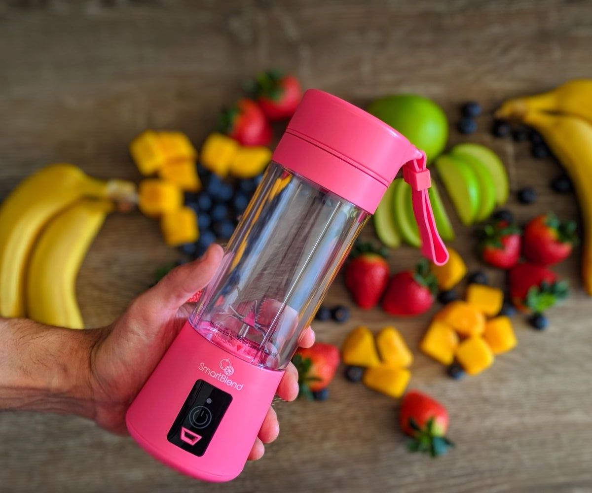 SmartBlend Portable Blenders – Perfect For When Travelling