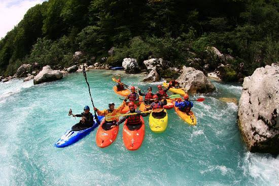 Enjoy an exciting and memorable Soca river kayaking